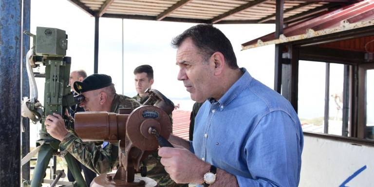 Επικοινωνία Παναγιωτόπουλου με υπ. Αμυνας ΗΠΑ: Η Ελλάδα είναι αποφασισμένη να προασπίσει τα κυριαρχικά της δικαιώματα   ΠΟΛΙΤΙΚΗ