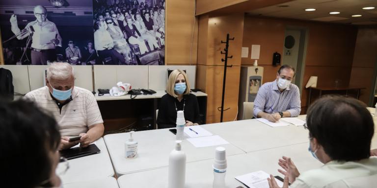 Η Γεννηματά στο Κερατσίνι: Στηρίζουμε τον αγώνα για απομάκρυνση των ρυπογόνων εγκαταστάσεων | ΠΟΛΙΤΙΚΗ