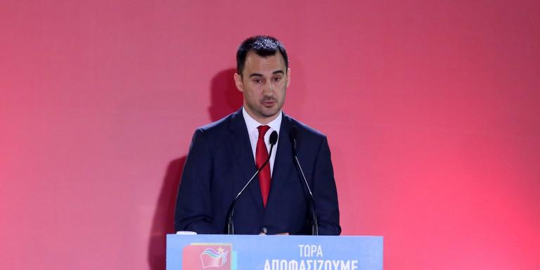Χαρίτσης: Η κυβέρνηση έστω και με καθυστέρηση οκτώ μηνών να ζητήσει επιβολή κυρώσεων προς την Τουρκία   ΠΟΛΙΤΙΚΗ