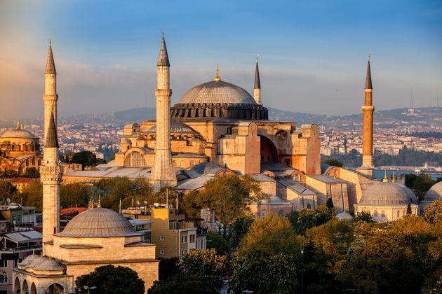 Hagia Sophia in Istanbul,