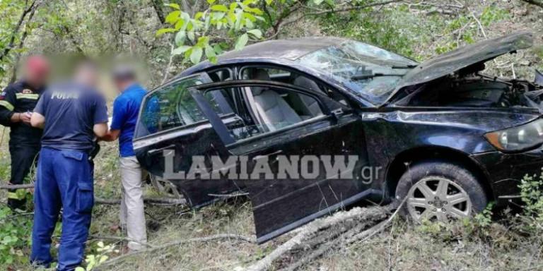 Σοβαρό τροχαίο στη Φθιώτιδα: Αυτοκίνητο έπεσε σε γκρεμό 15 μέτρων [εικόνες] | ΕΛΛΑΔΑ