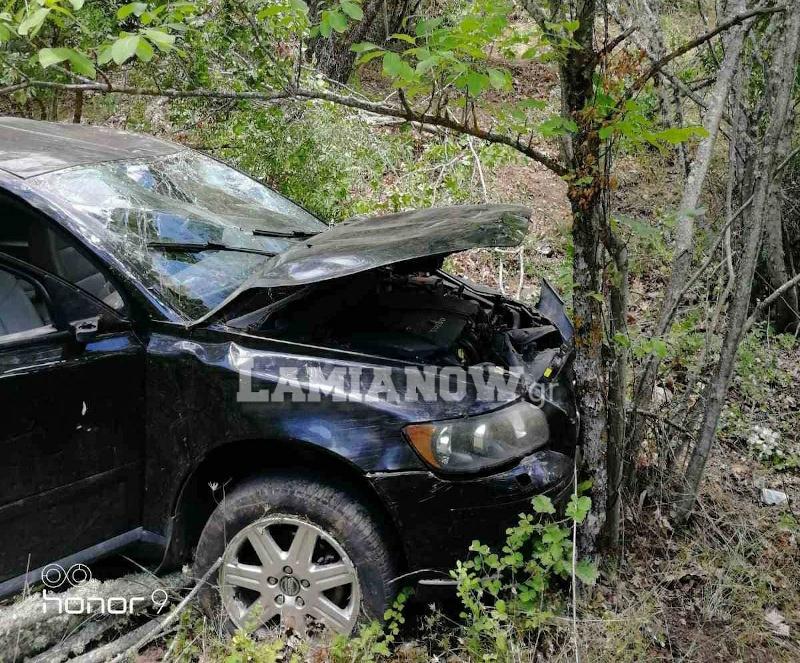 το αυτοκίνητο μετά το τροχαίο ατύχημα