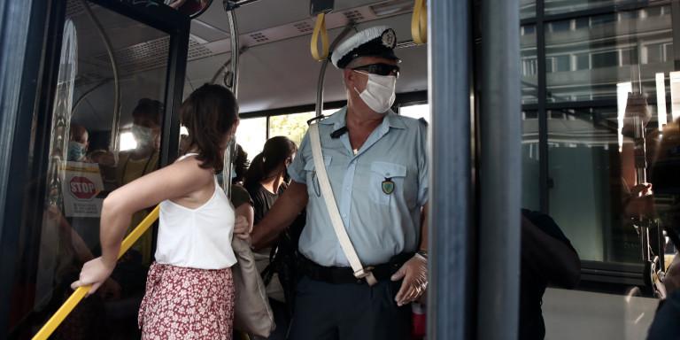 Κορωνοϊός: Εντατικοί έλεγχοι στα Μέσα Μαζικής Μεταφοράς για τη χρήση μάσκας [εικόνες] | ΕΛΛΑΔΑ