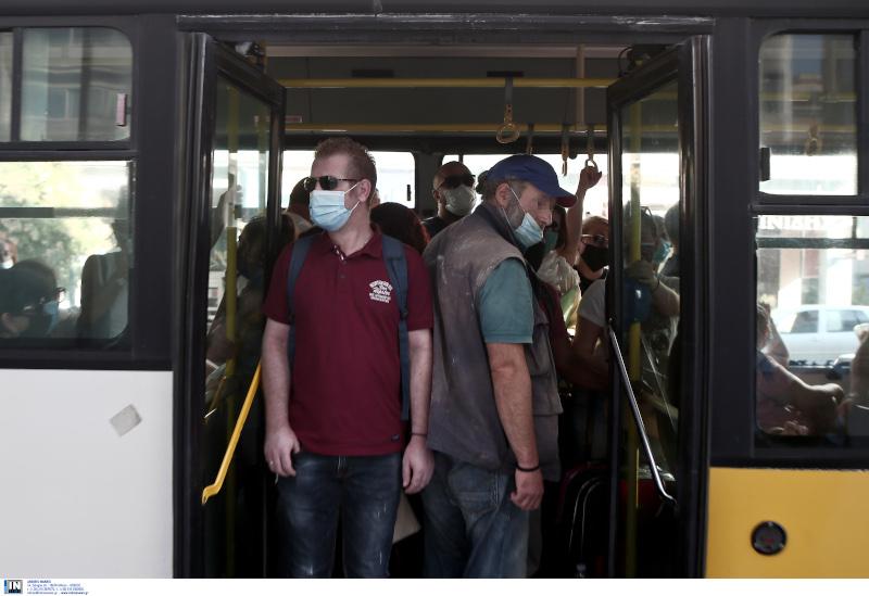 Υποχρεωτική η χρήση μάσκας στα ΜΜΜ