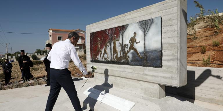Μητσοτάκης από το Μάτι: Δωρεά 11 εκατ. ευρώ από την Κύπρο -Πώς θα αξιοποιηθούν [εικόνες] | ΠΟΛΙΤΙΚΗ
