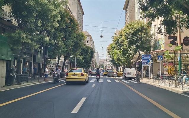 Έργα ανακατασκευής ασφαλτοτάπητα κεντρικών οδών
