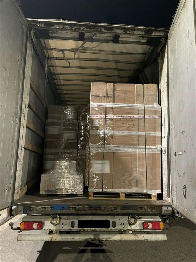 Επιχείρησε να περάσει με φορτηγό 58 κιλά χασίς από Ισπανία