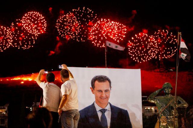 Συρία: Ο Μπασάρ αλ Άσαντ επανεξελέγη πρόεδρος με 95%!