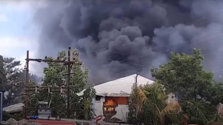 Ινδία: 18 νεκροί από πυρκαγιά σε εργοστάσιο χημικών στην πόλη Πούνε