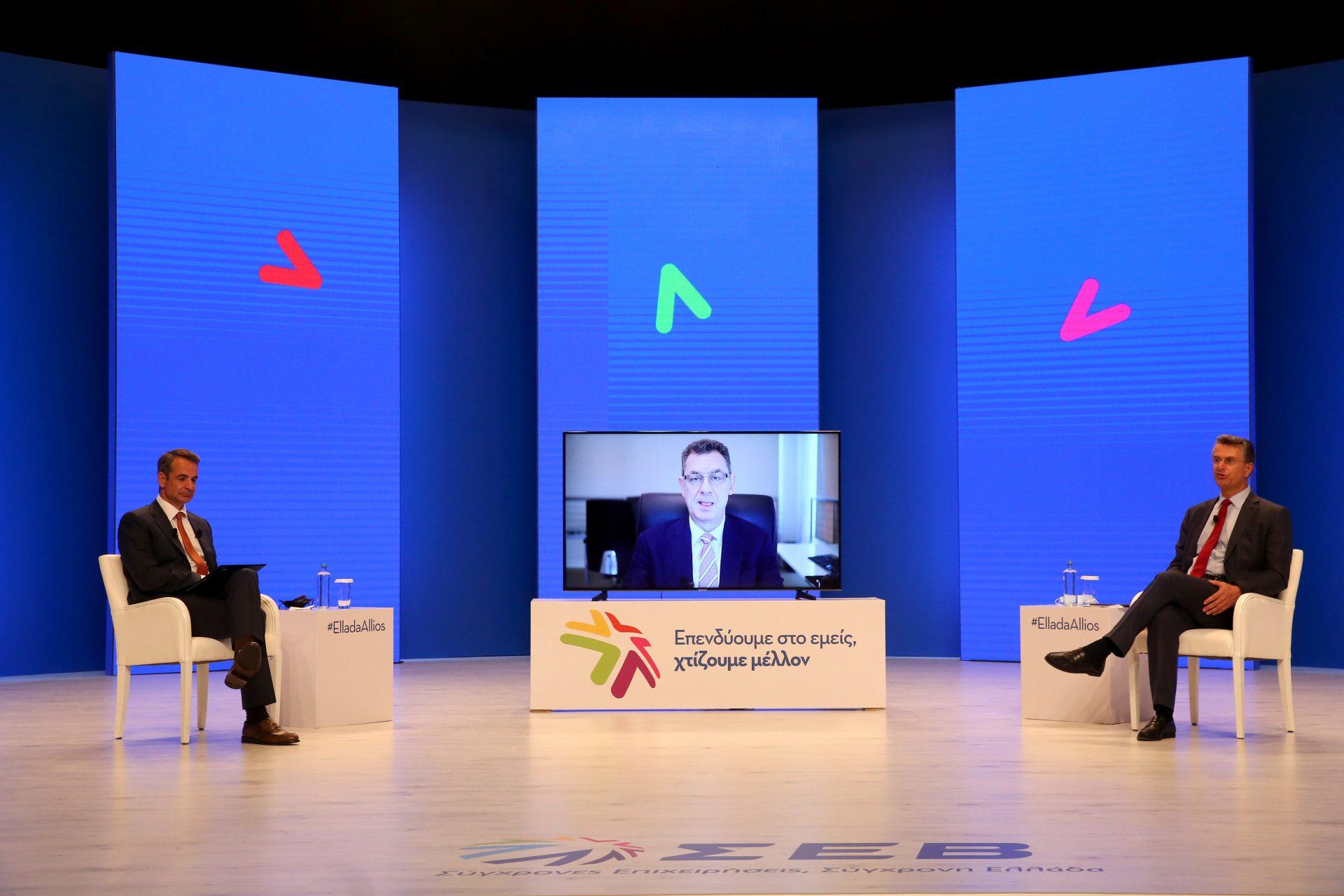 Μητσοτάκης στον ΣΕΒ: Η χώρα πολύ καλά προετοιμασμένη για νέο αναπτυξιακό άλμα – Οι 3 στόχοι