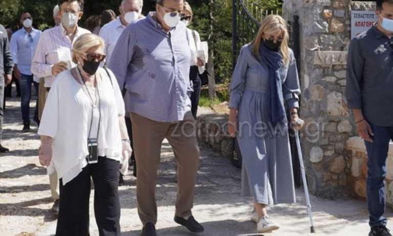 Στο νοσοκομείο για επέμβαση στο μηνίσκο η Μαρέβα Μητσοτάκη