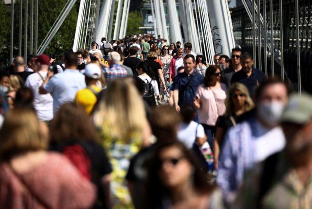 Βρετανία: Η παραλλαγή Δέλτα είναι κατά 40% πιο μεταδοτική