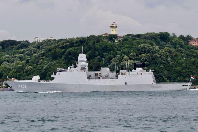 Μαύρη Θάλασσα: Ρωσικά μαχητικά παρενόχλησαν ολλανδική φρεγάτα