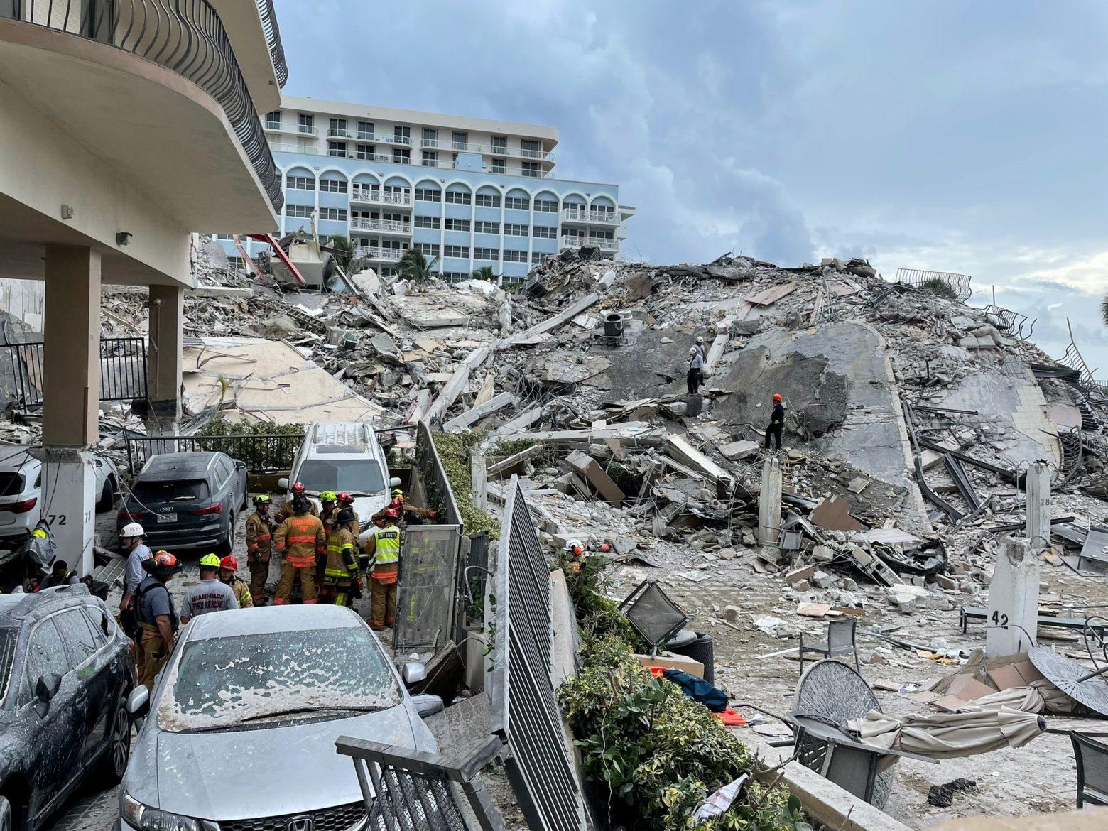 Μαϊάμι: Στους 86 οι νεκροί – Σταμάτησαν τις έρευνες και περνούν στην περισυλλογή πτωμάτων