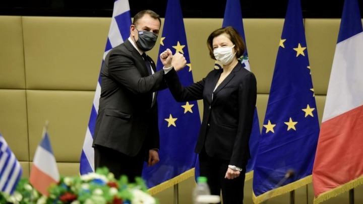 Συνάντηση Παναγιωτόπουλου με την υπουργό Άμυνας της Γαλλίας