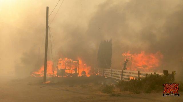 Καναδάς: Φλόγες ισοπέδωσαν το χωριό που κατέγραψε ρεκόρ θερμοκρασίας