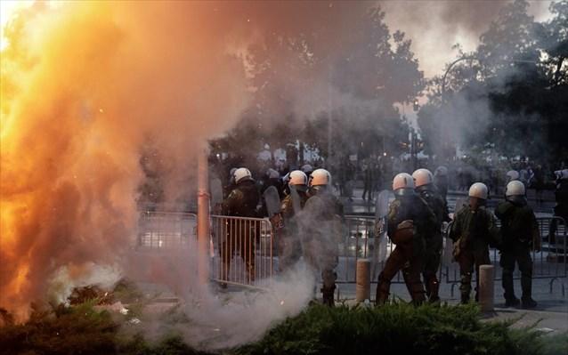 Θεσσαλονίκη: Ολοκληρώθηκαν οι πορείες στο κέντρο της πόλης