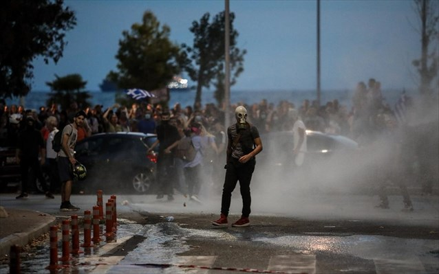 Θεσσαλονίκη: Σε εξέλιξη συγκεντρώσεις και πορείες στο κέντρο της πόλης