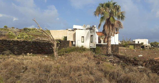 Ιταλία –  Ανεμοστρόβιλος έπληξε το νησί Παντελερία αφήνοντας πίσω του δύο νεκρούς