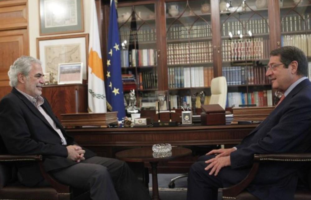 Καλή επιτυχία, εύχεται ο Πρόεδρος Αναστασιάδης στον Χρήστο Στυλιανίδη