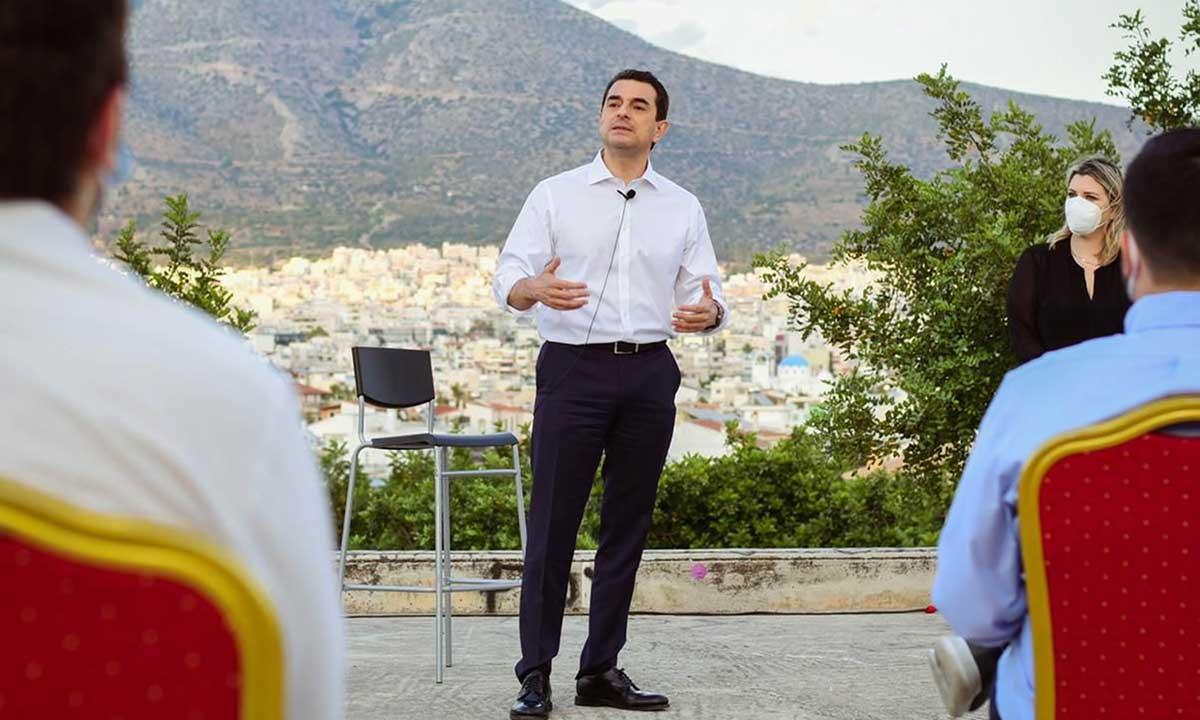 Κ. Σκρέκας: «Σημαντικός ο ρόλος ΡΑΕ στην προσπάθεια της αντιμετώπισης των αιτιών της κλιματικής αλλαγής»