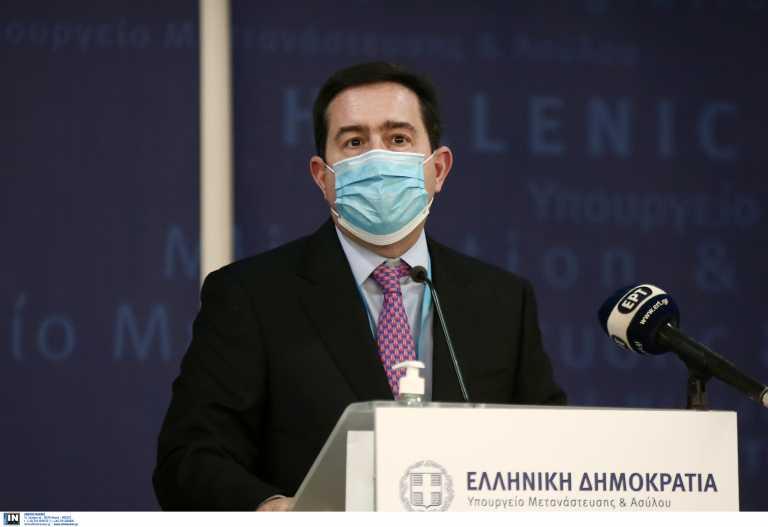 Μηταράκης: Κανείς μετανάστης δεν θα μείνει στην ακριτική Ελλάδα