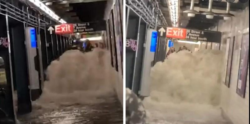 Νέα Υόρκη – Δεκάδες νεκροί – Πλημμύρες ιστορικών διαστάσεων – Εικόνες που σοκάρουν