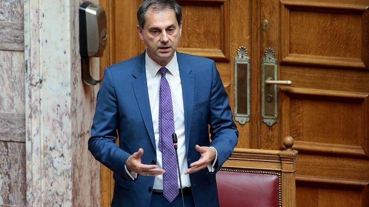Νέοι κοινοβουλευτικοί εκπρόσωποι της ΝΔ ο Χάρης Θεοχάρης και η Φωτεινή Αραμπατζή