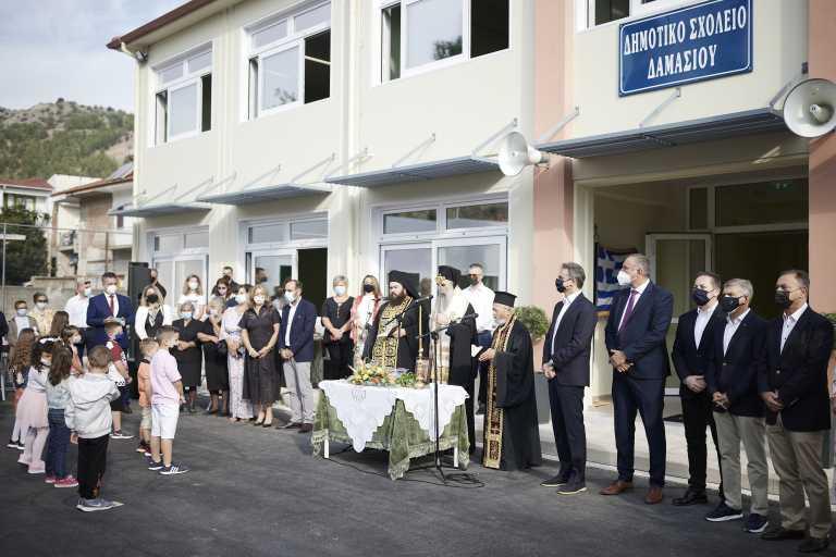 Πέτσας: Το σχολείο στο Δαμάσι έγινε πραγματικότητα σε χρόνο ρεκόρ
