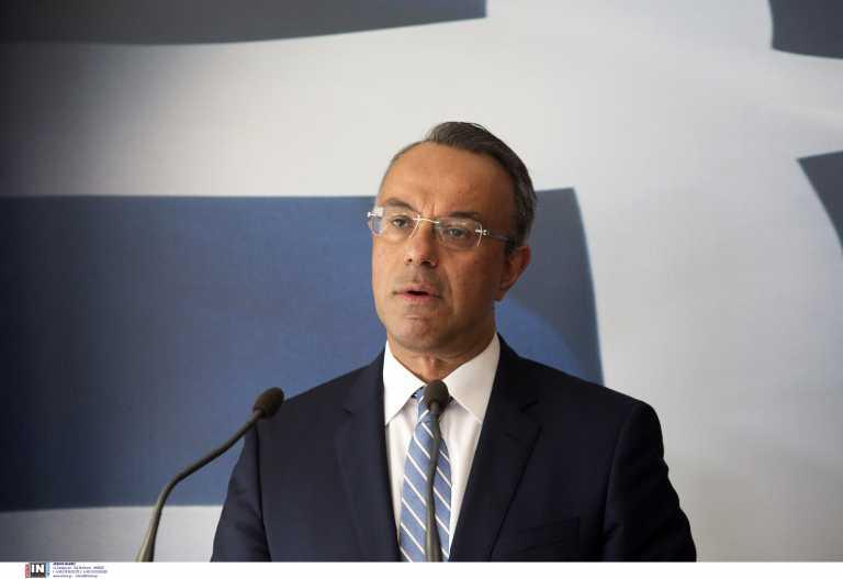 Σταϊκούρας: Απόλυτα εφικτός και ρεαλιστικός ο στόχος για ανάπτυξη 3,6% το 2021