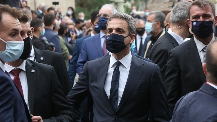 Στα Χανιά ο πρωθυπουργός για την κηδεία του Μ. Θεοδωράκη