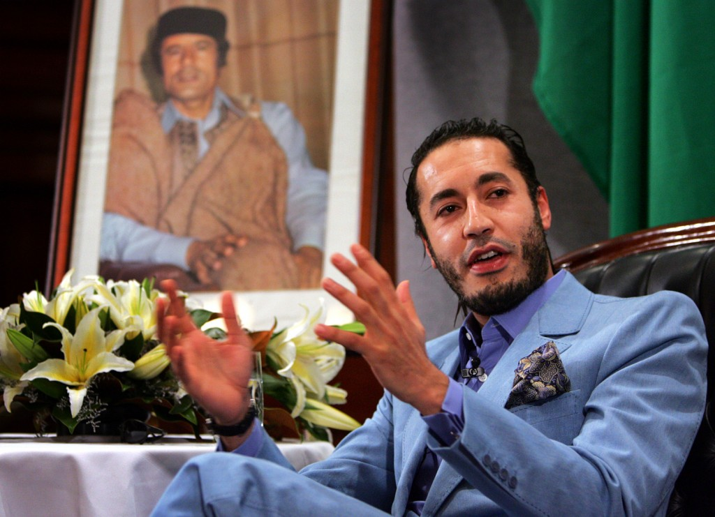 Στην Τουρκία εγκαταστάθηκε ο γιος του Καντάφι