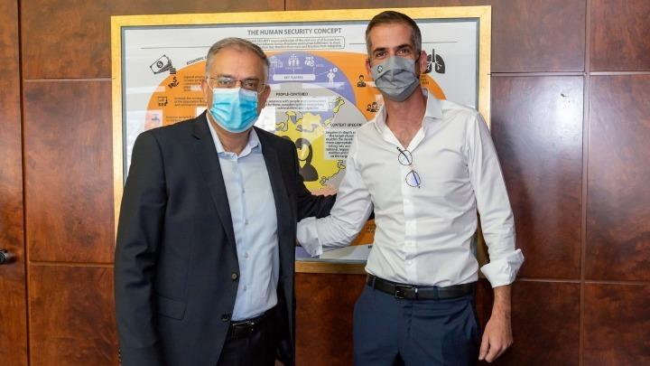 Συνάντηση Θεοδωρικάκου-Μπακογιάννη για θέματα ασφάλειας της Αθήνας