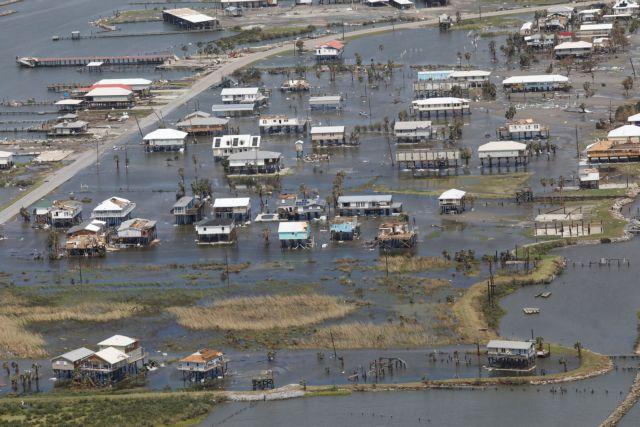 Κυκλώνας Άιντα – Νυχτερινή απαγόρευση κυκλοφoρίας στη Νέα Ορλεάνη – Χωρίς ρεύμα η Λουιζιάνα