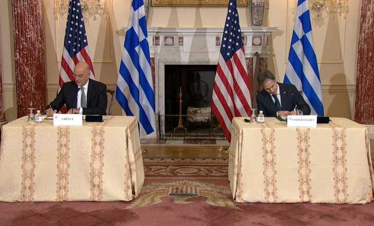 Αμυντική συμφωνία Ελλάδας - ΗΠΑ