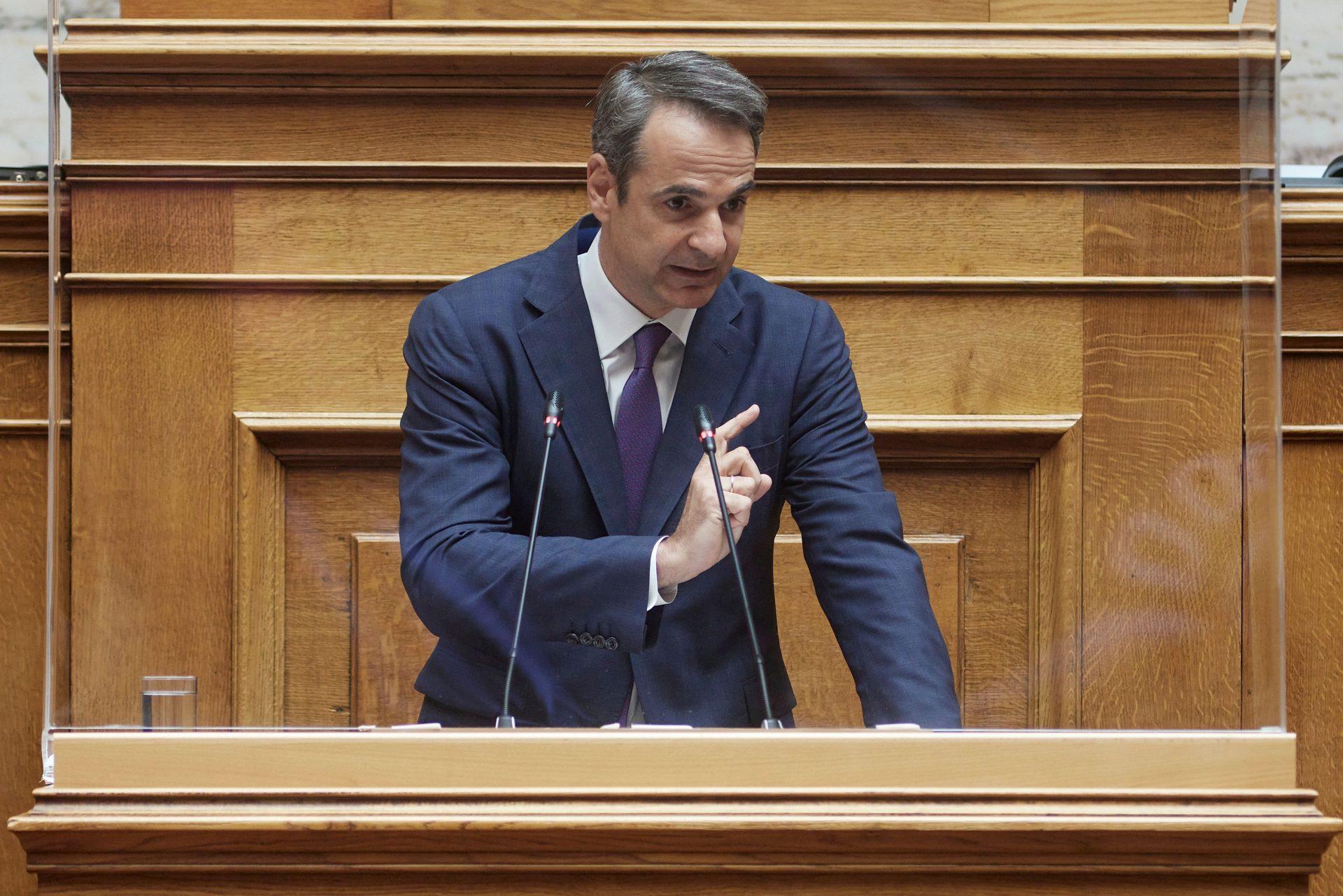 Αύριο η ομιλία Μητσοτάκη στη Βουλή για την Ελληνογαλλική συμφωνία