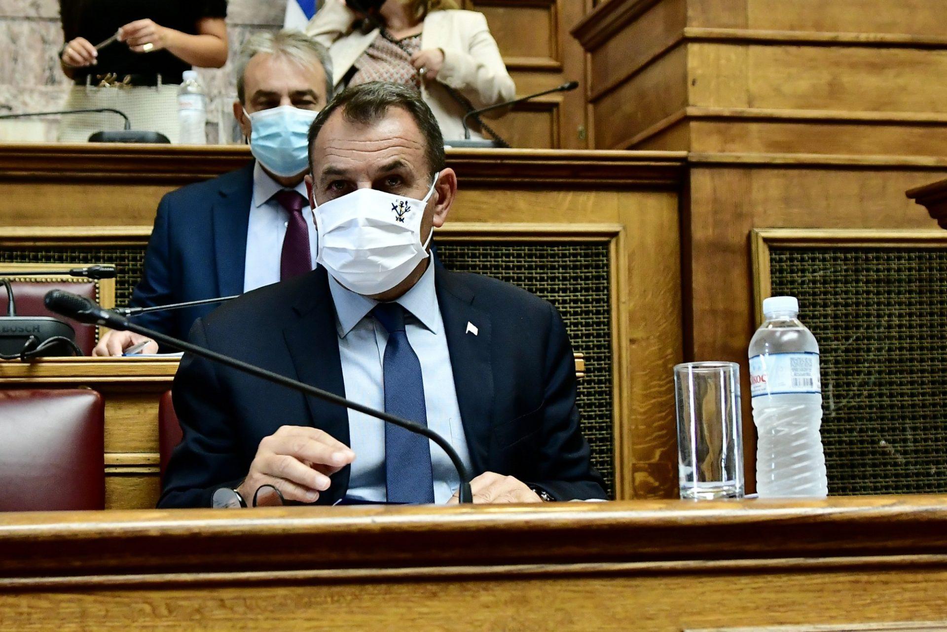 Ενημέρωση Παναγιωτόπουλου στην Επιτροπή Εξοπλιστικών Προγραμμάτων & Συμβάσεων της Βουλής