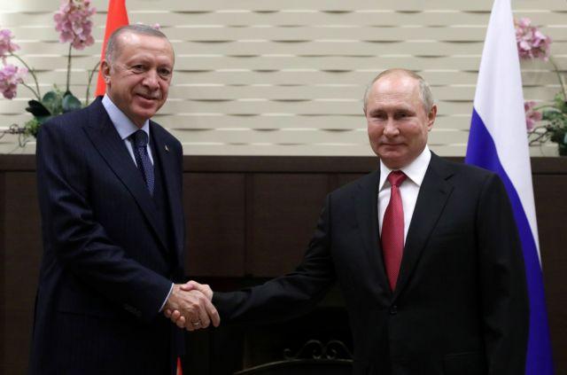 Ερντογάν – Με τον Πούτιν συζητήσαμε την κατασκευή δύο πυρηνικών εργοστασίων