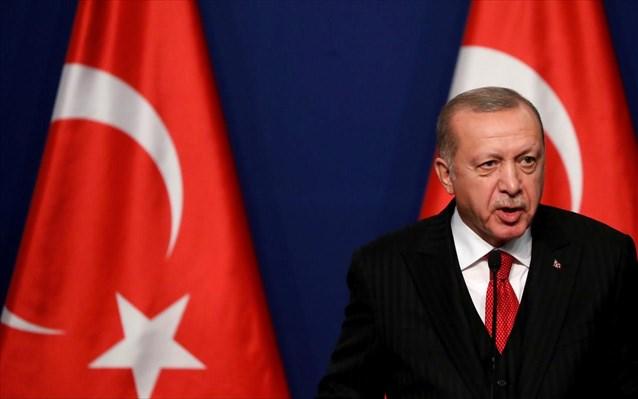Ερντογάν – Νέο παραλήρημα του τούρκου προέδρου – «Τουρκικό έμβλημα ο δικέφαλος αετός»