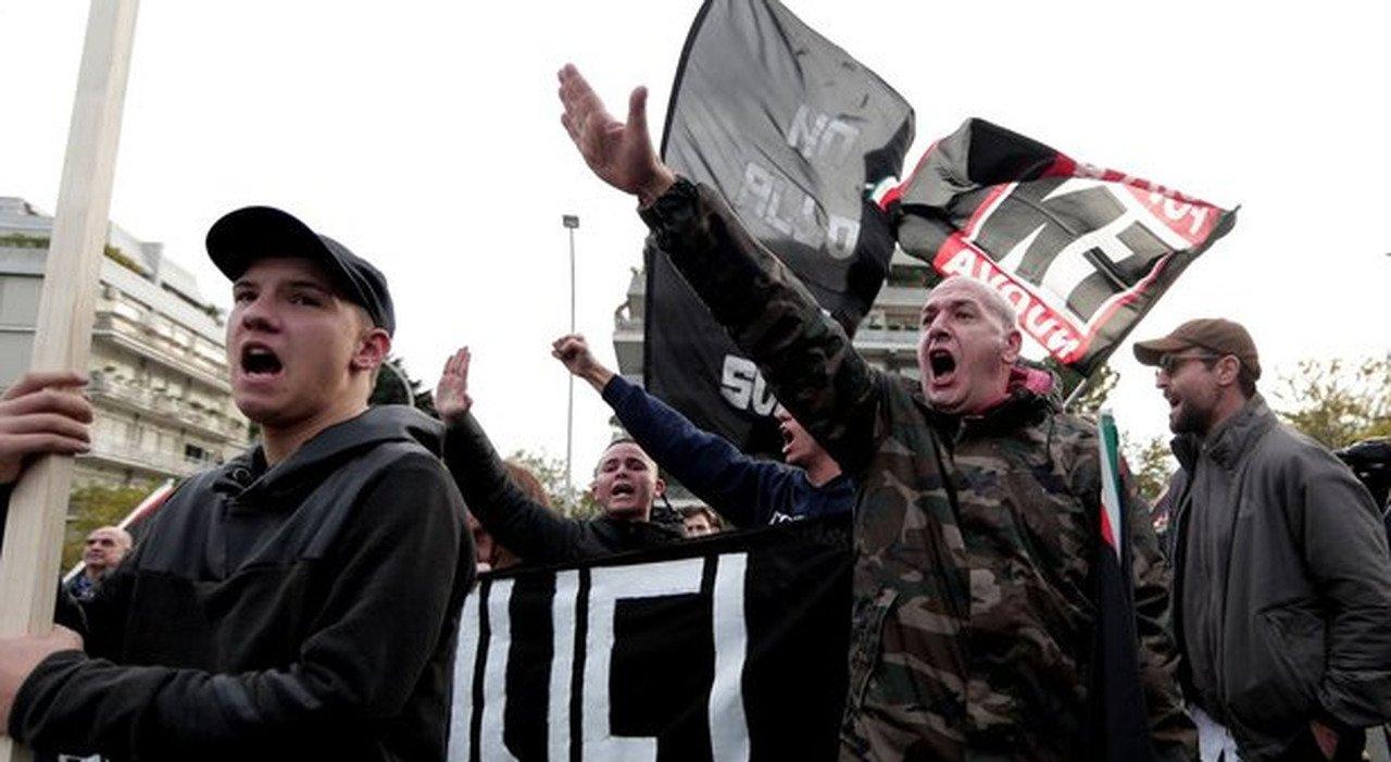 Ιταλία – Πρόταση στη Γερουσία για να τεθεί εκτός νόμου το νεοφασιστικό κόμμα Forza Nuova