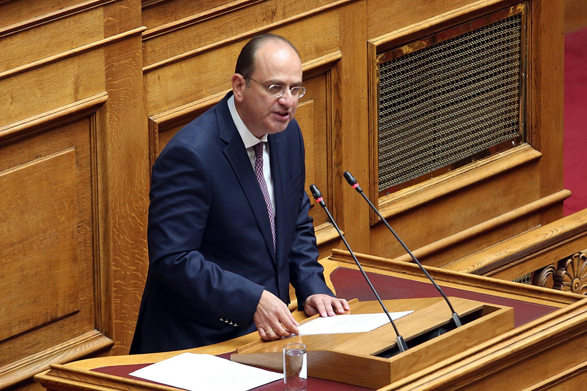 """Λαζαρίδης: """"Οι φωνές των εκνευρισμένων γειτόνων, απόδειξη ότι η Ελλάδα ισχυροποιείται αποφασιστικά"""""""