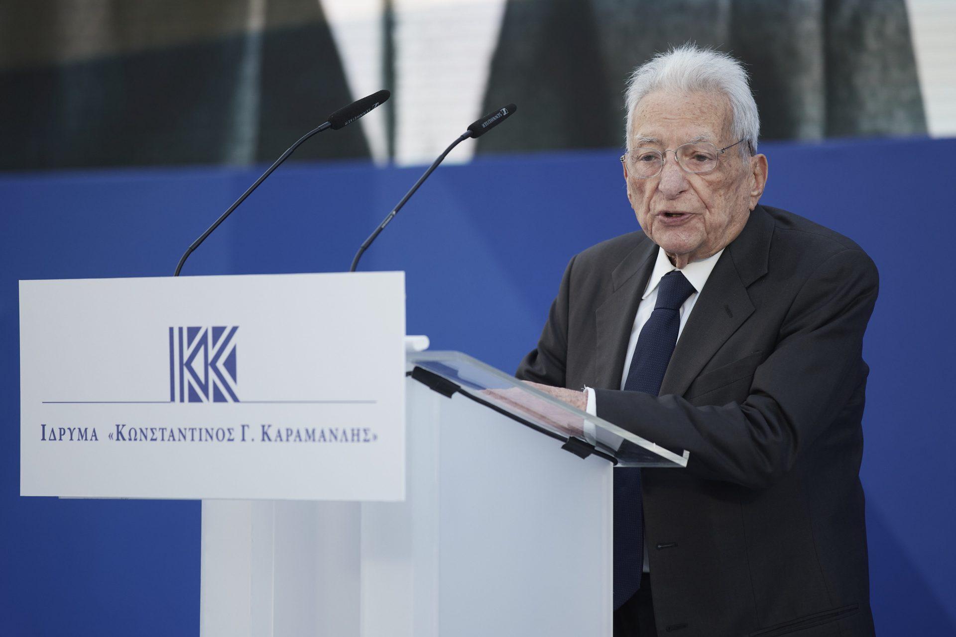Πέτρος Μολυβιάτης: Το πολιτικό όραμα του Κ. Καραμανλή έχει επιτευχθεί σε μεγάλο βαθμό