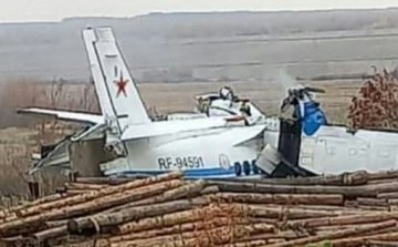 Πολύνεκρη τραγωδία στη Ρωσία – Σοκαριστικές εικόνες από τη συντριβή του αεροσκάφους