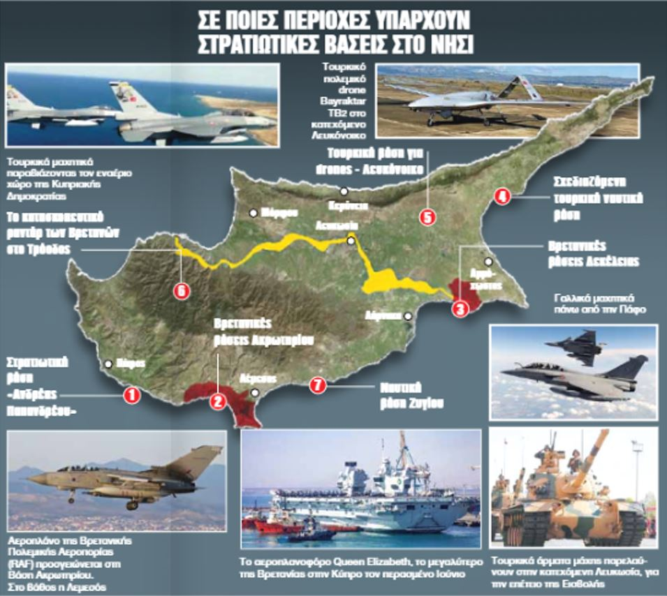 Πόσες ακόμα βάσεις μπορεί να αντέξει η Κύπρος;