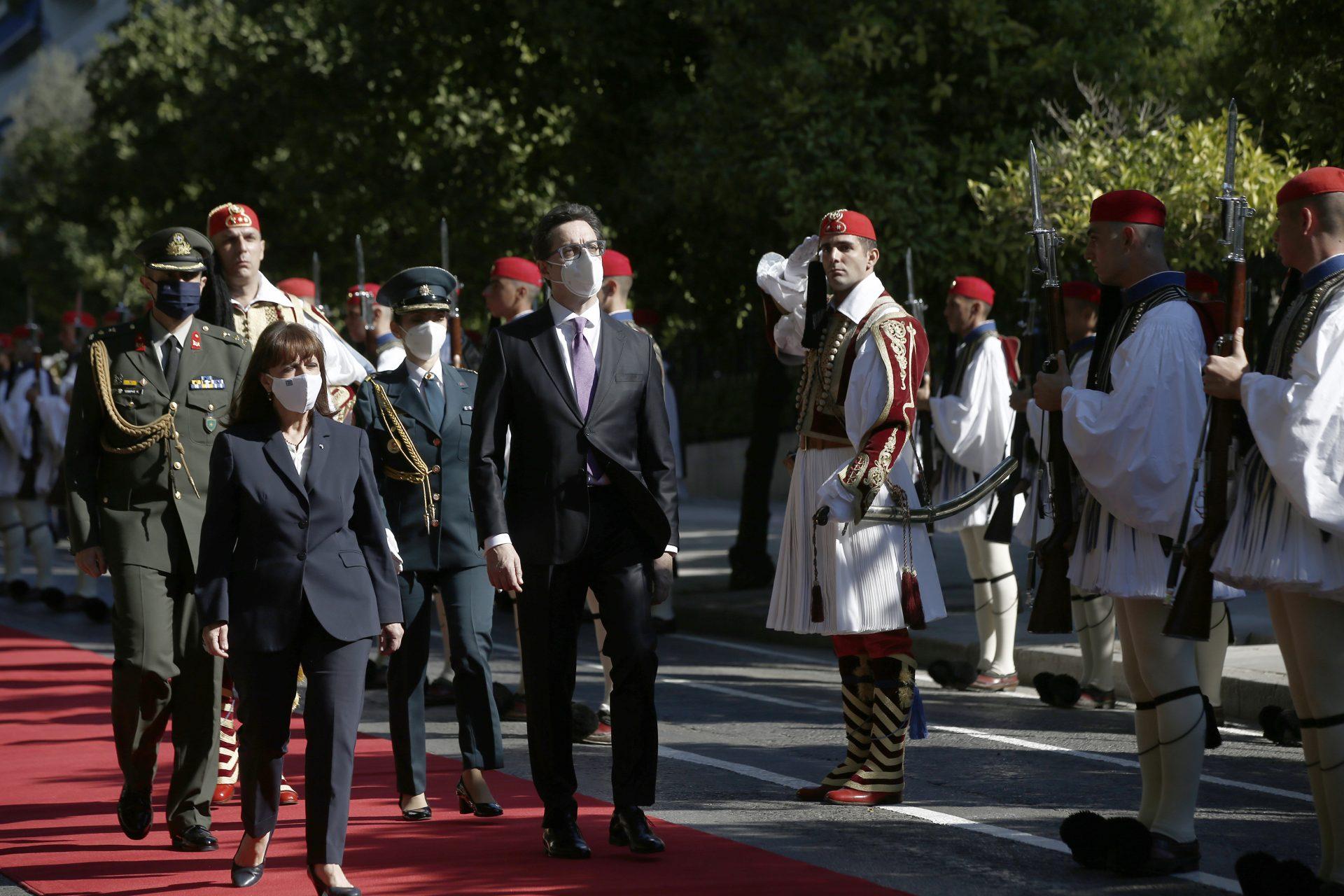 Σακελλαροπούλου: Κρίσιμη η πλήρης, συνεπής και με καλή πίστη εφαρμογή της Συμφωνίας των Πρεσπών