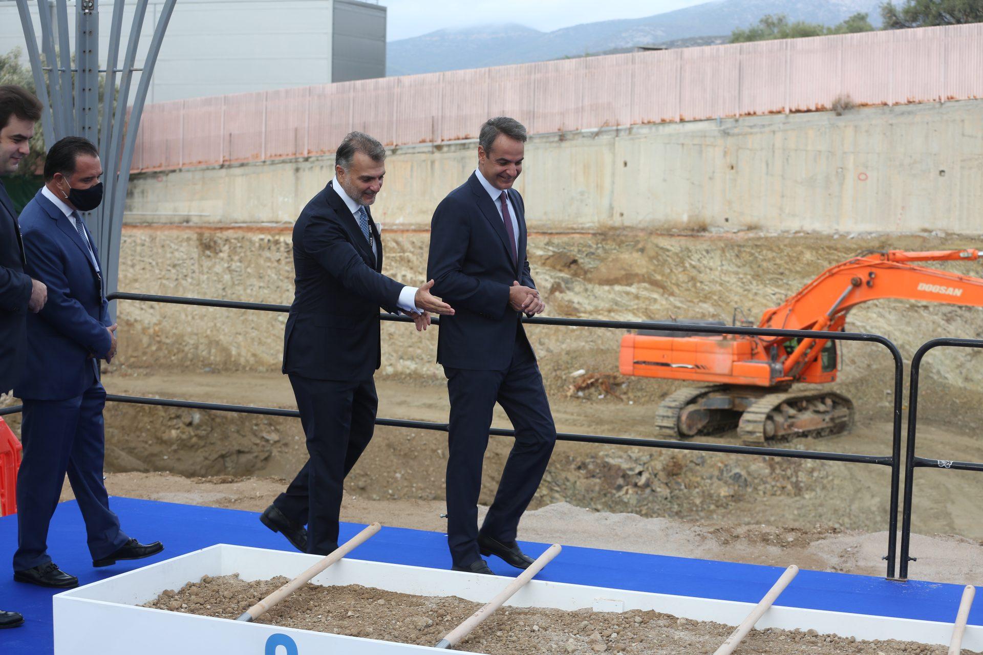 Το νέο data center της Lamda Hellix εγκαινίασε ο Κυριάκος Μητσοτάκης