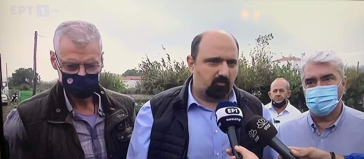 Τριαντόπουλος από Αγία Άννα: Έκτακτη χρηματοδότηση 20 εκατ. ευρώ για τη Β. Εύβοια
