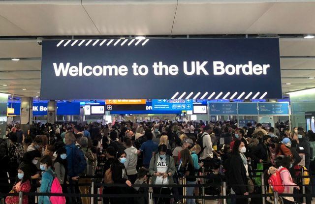 Βρετανία – Αυτές είναι οι αλλαγές για τα ταξίδια προς τη χώρα - Τι ισχύει για τους μη εμβολιασμένους